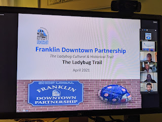 Ladybug trail being planned