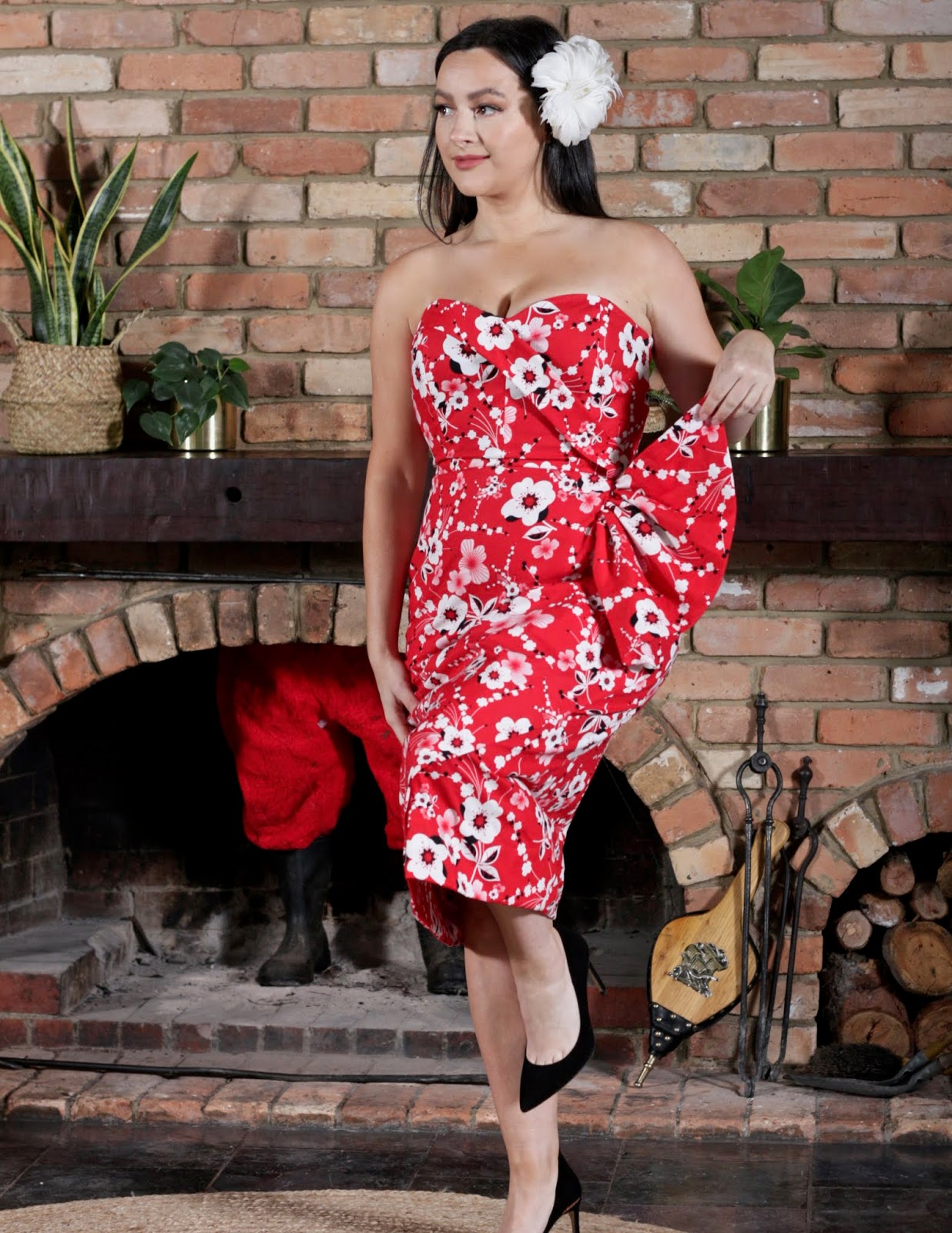 Julia Bobbin - Lamour Dress by Charm Patterns by Gertie