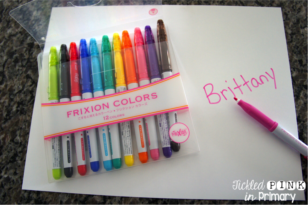 Frixion Erasable Markers
