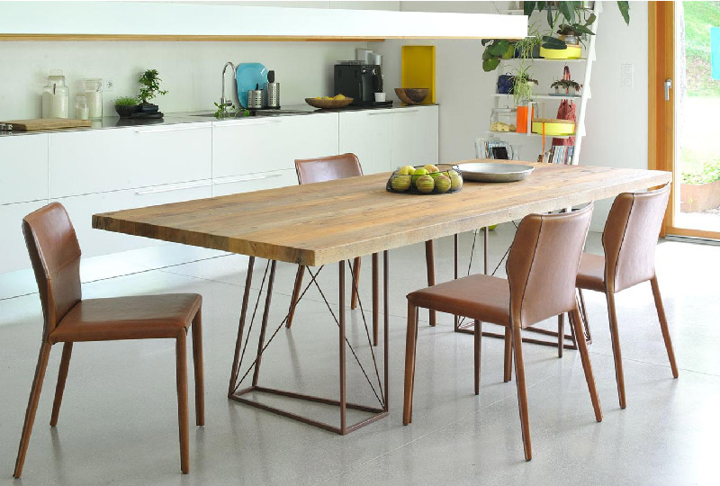 tavolo da pranzo in legno ROXY di Briccola di Venezia