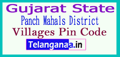 Panch Mahals District Pin Codes in Gujarat State
