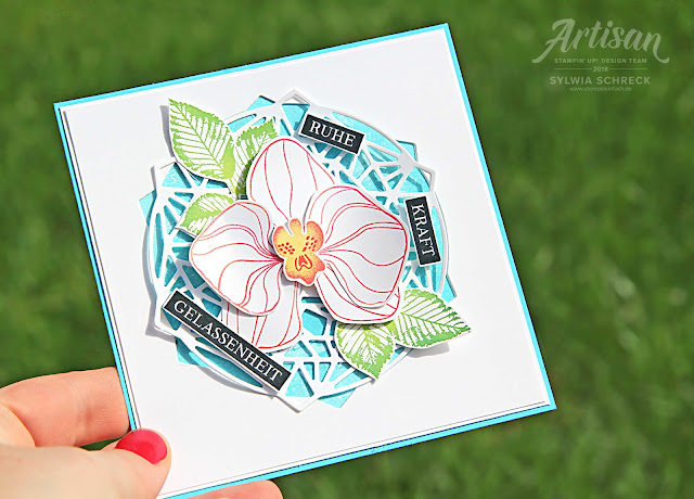 Stampin Up-Orchidee