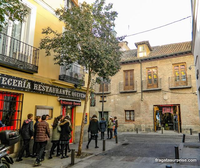 Casa do poeta Francisco de Quevedo, Bairro de las Letras, Madri