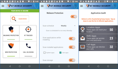 K7 Mobile Security Apps 2021 Free Download