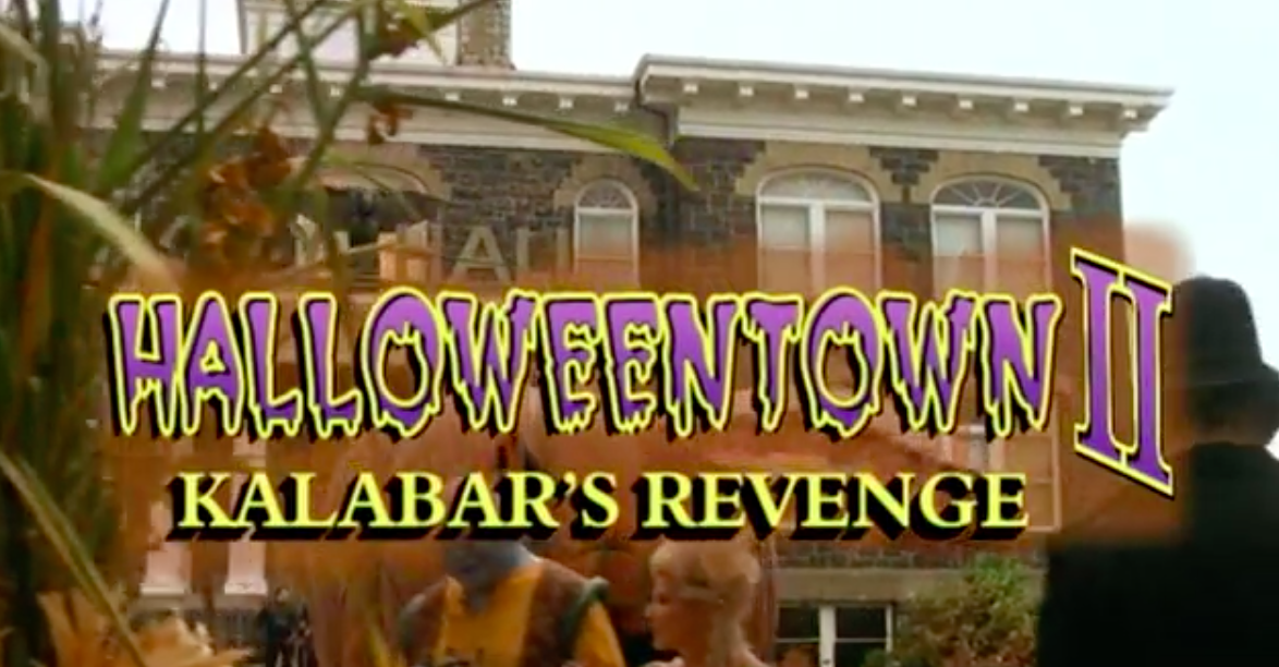 Halloween Film List 2017 / Halloweentown 2 / Belle Chaton Blog