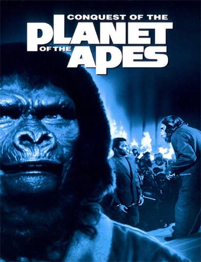 Ver La conquista del planeta de los simios (1972) Online