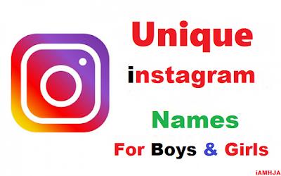 Best Instagram User Names