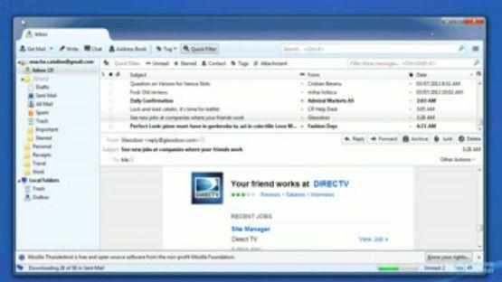 Mozilla Thunderbird screenshot 2