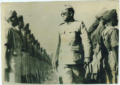 Subhas Chandra Bose and Indian national army