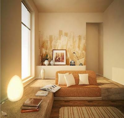 Model Gambar Desain Interior Ruang Keluarga Minimalis