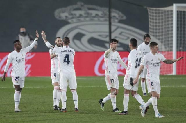 أبرز أرقام مباراة ريال مدريد وإشبيلية في الدوري الإسباني لحساب الجولة 35
