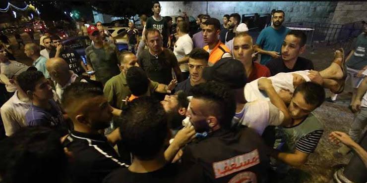 BREAKING NEWS!: Imam Besar Masjid Al-Aqsa Ditembak Tentara Israel Selesai Shalat