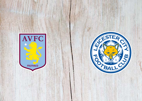 Aston Villa Vs Leicester City Highlights 28 January 2020