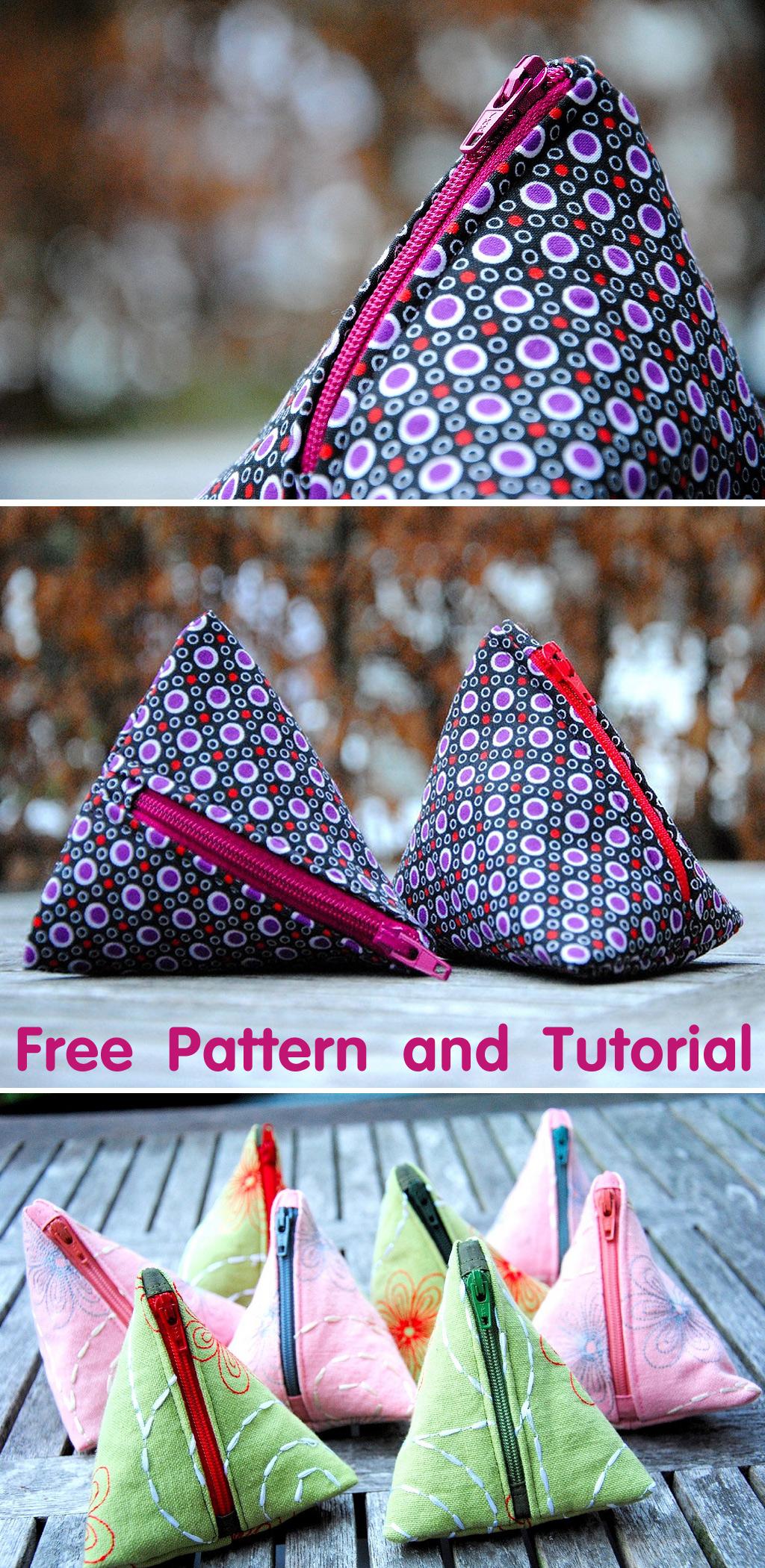 Pyramid Bag Tutorial and Pattern