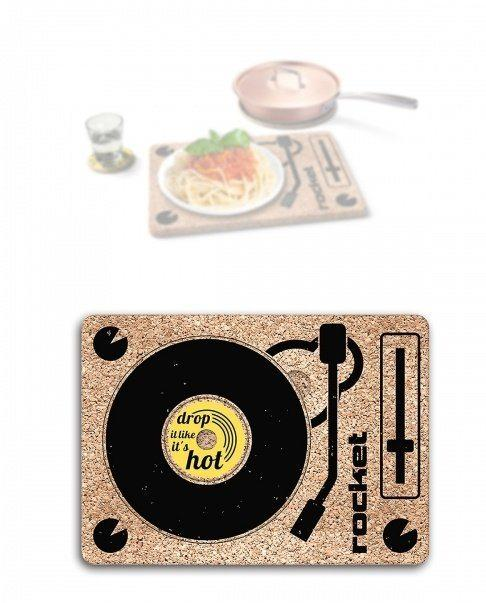 Turntable Trivet and 3-In-1 Tray