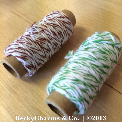Pretty Twine to tie your candy by BeckyCharms