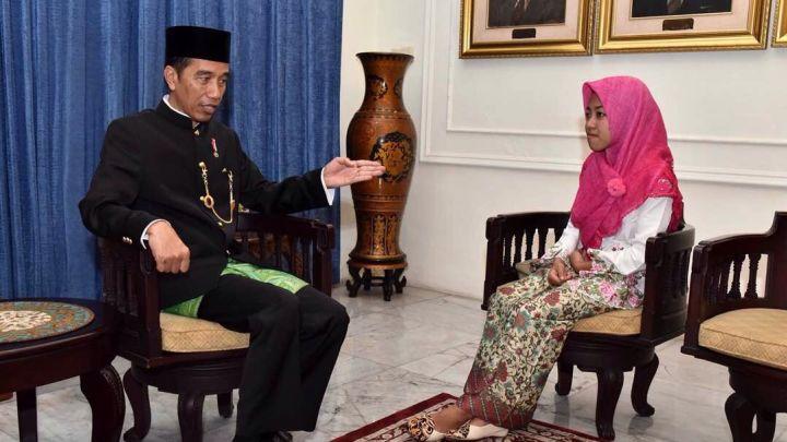 Afi Plagiator Diundang Jokowi, Istana Dianggap Ajari Berbohong
