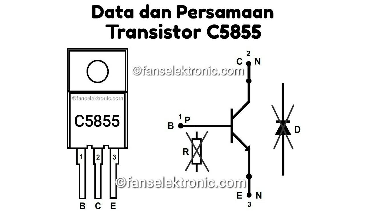 Persamaan Transistor C5855