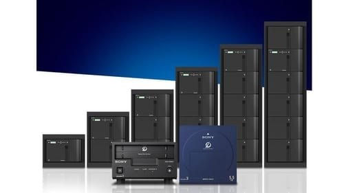 This is what Sony's 1 million GB storage cabinet looks like