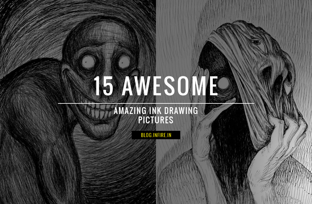 15 Amazing and Best Ink Drawings images on Pinterest