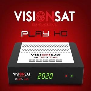 VISIONSAT PLAY NOVA ATUALIZAÇÃO V1.06 - 25/03/2020