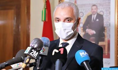 وزير الصحة يدق ناقوس الخطر بشان الوضع الوبائي خاصة بالدارالبيضاءخلال اجتماع المجلس الحكومي اليوم