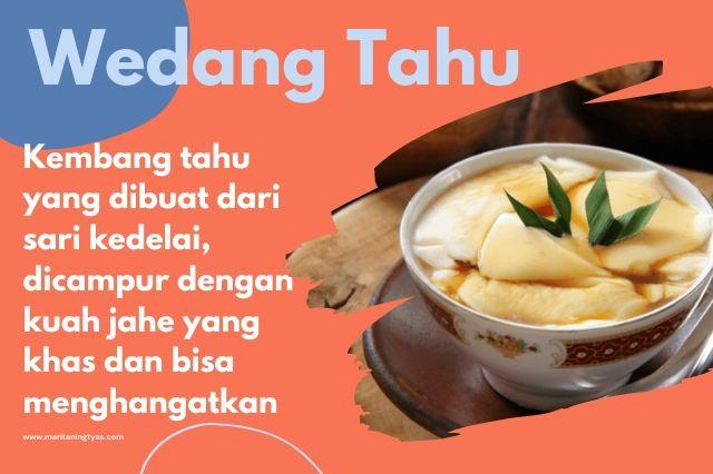 wedang tahu khas Semarang