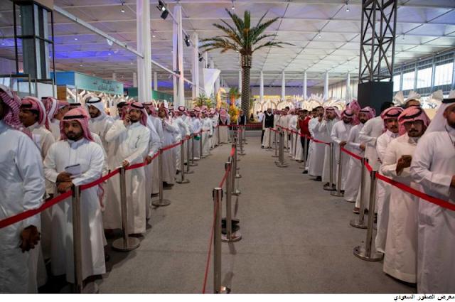 اكثر من 30 الف زائر معرض الصقور السعودي