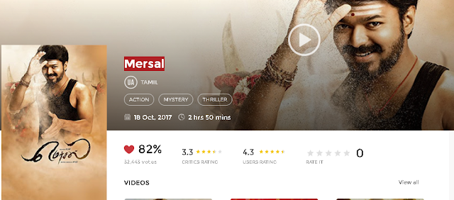 Mersal (2017) Tamil Full Movie 700MB HD