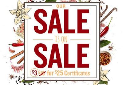Restaurant.com sale