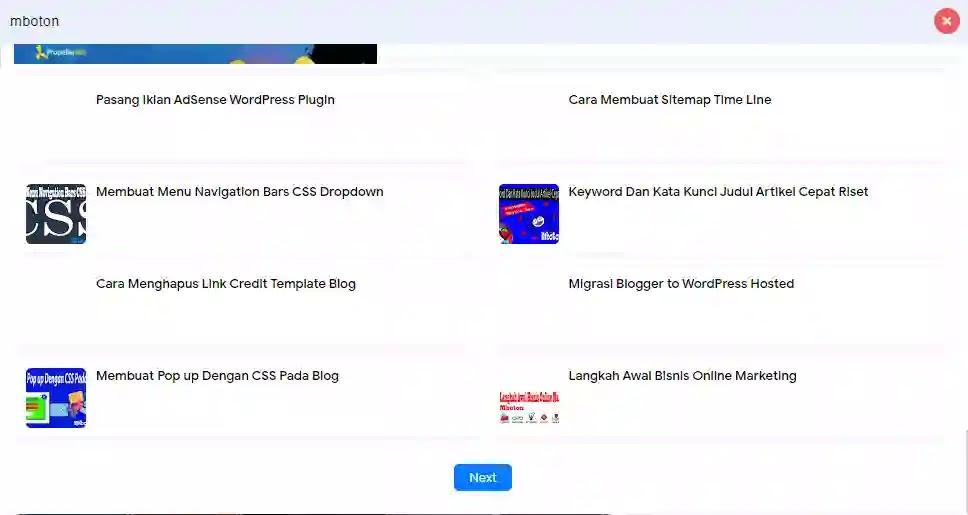 Cara Membuat Search Fitur Ajax search Blogger