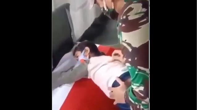 Momen Haru Putri TNI Korban Heli Jatuh di Kendal Peluk Peti Jenazah Ayah