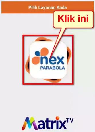 Aplikasi Nex Parabola