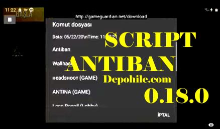 Pubg Mobile 0.18.0 Bahan Script Antibanlı Yeni Hile Mayıs 2020
