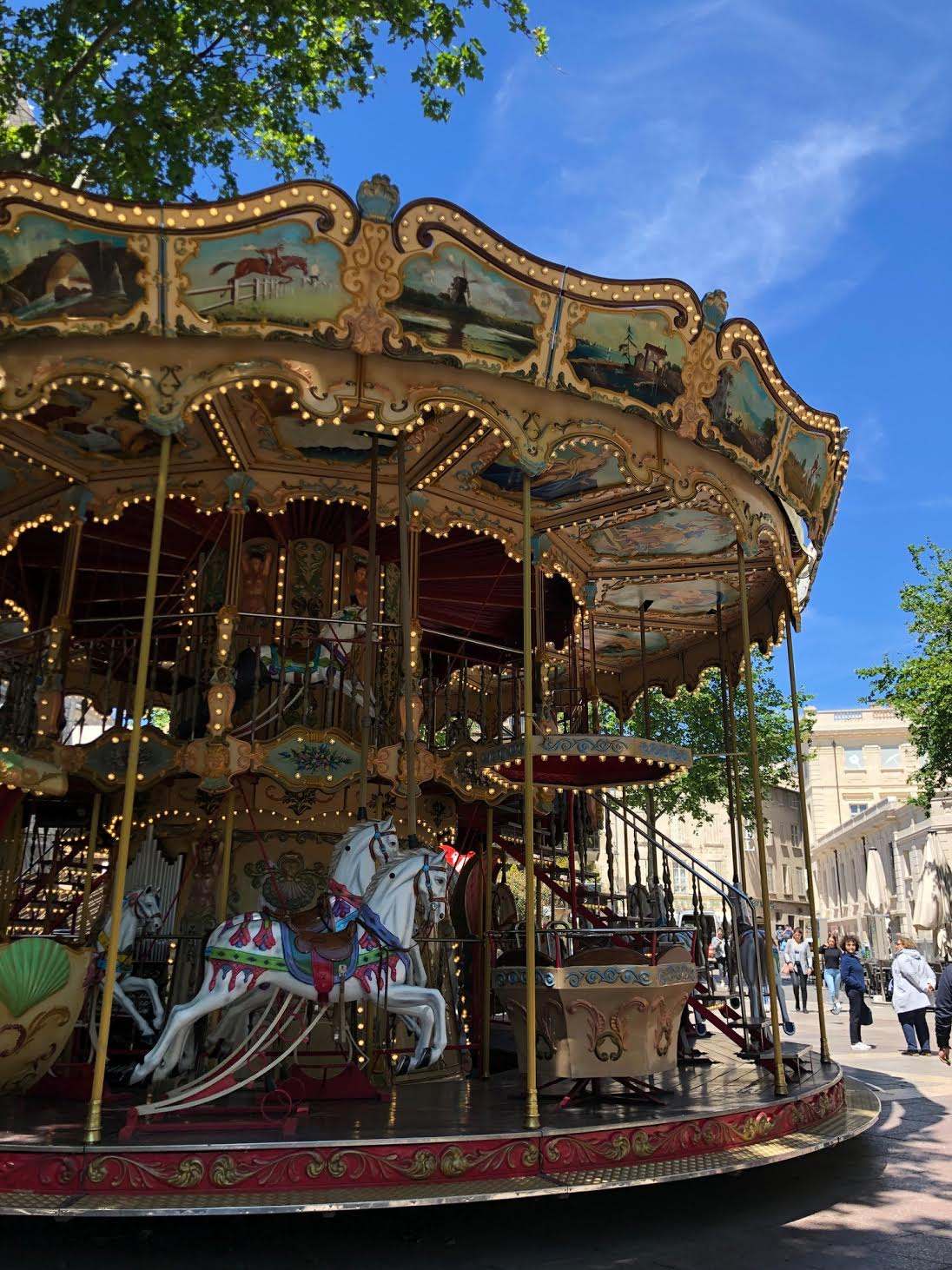 A stop in charming Avignon, France