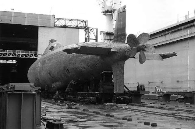 Submarino Clase Alfa tenía una extensión que ayudó a reducir la cavitación