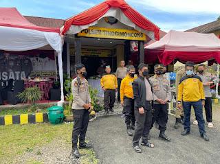 Jalin Silaturahmi, Kapolda Sulsel Kunjungi Polsek Tinggimoncong Gowa
