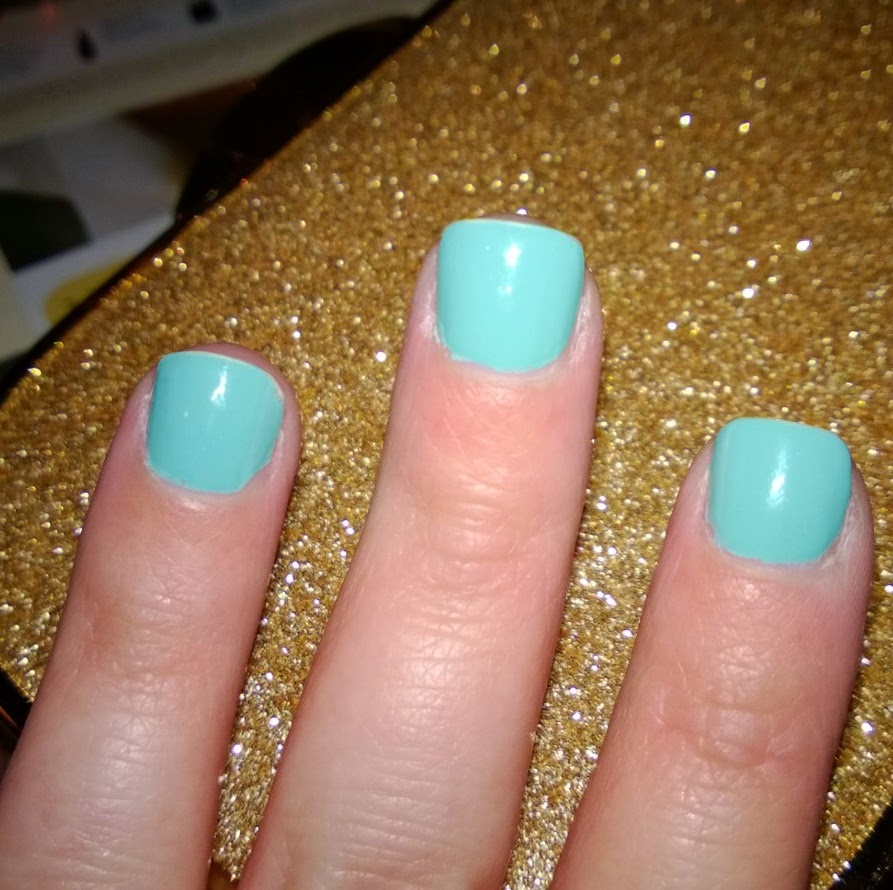 Nicole Top To Toe Tiffany Blue Nail Polish For Audrey