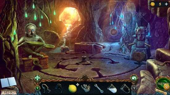 комната под землей в игре затерянные земли 3 проклятое золото