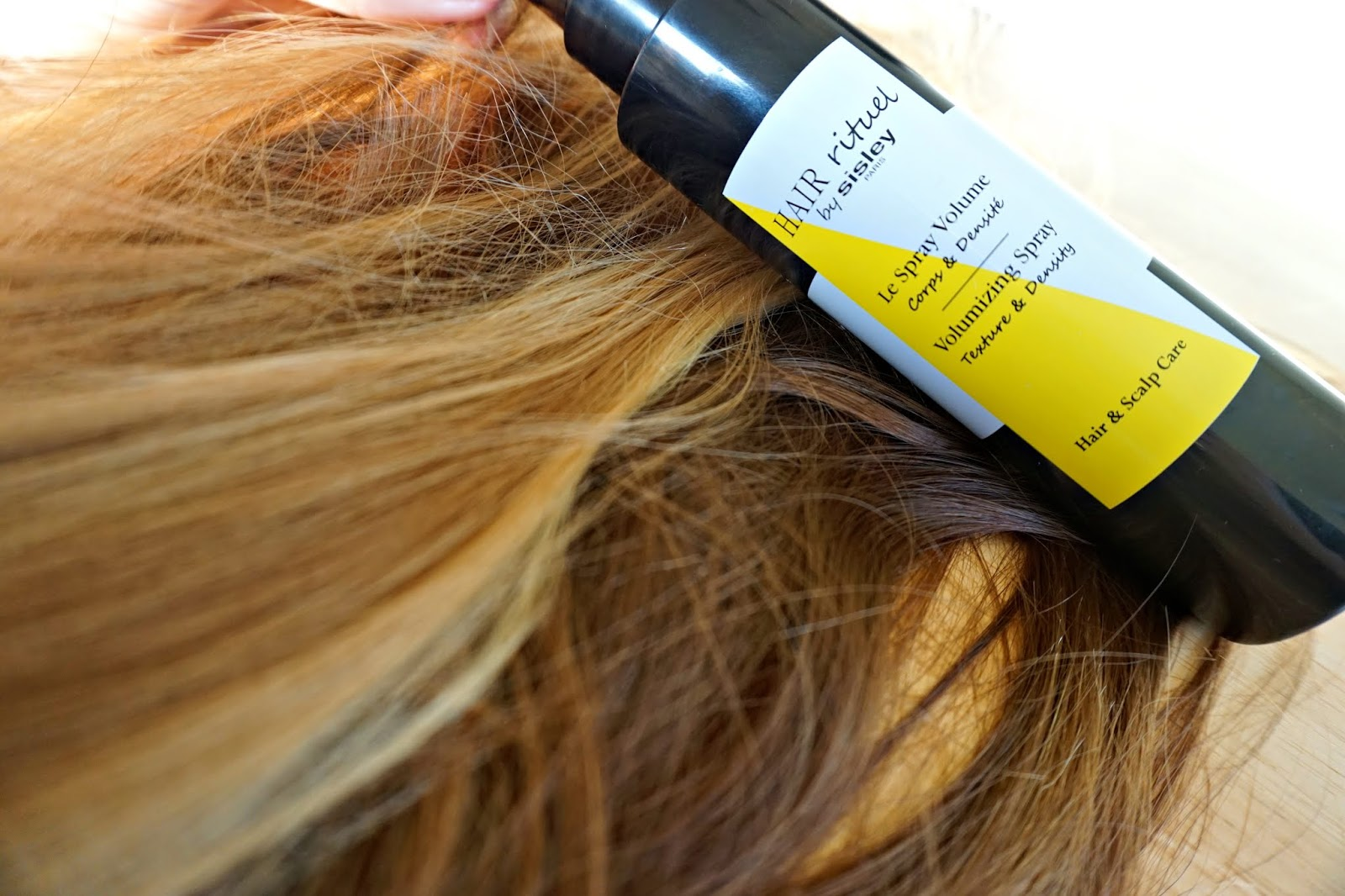 hair rituel by sisley volumizing spray