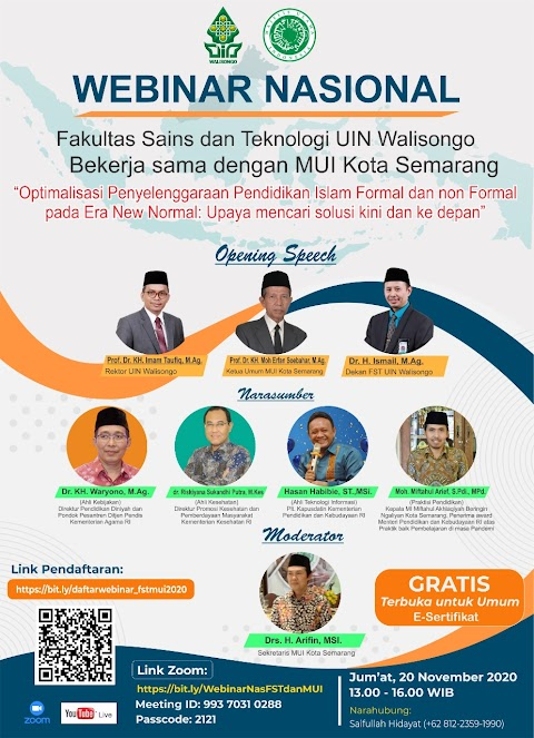 Kepala MI Akhlaqiyah Menjadi Narasumber dalam Webinar Nasional tentang Penyelenggaraan Pendidikan Islam di Tengah Pandemi