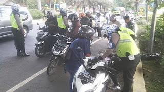 Razia Lalin, Satlantas Jombang Gunakan Drone