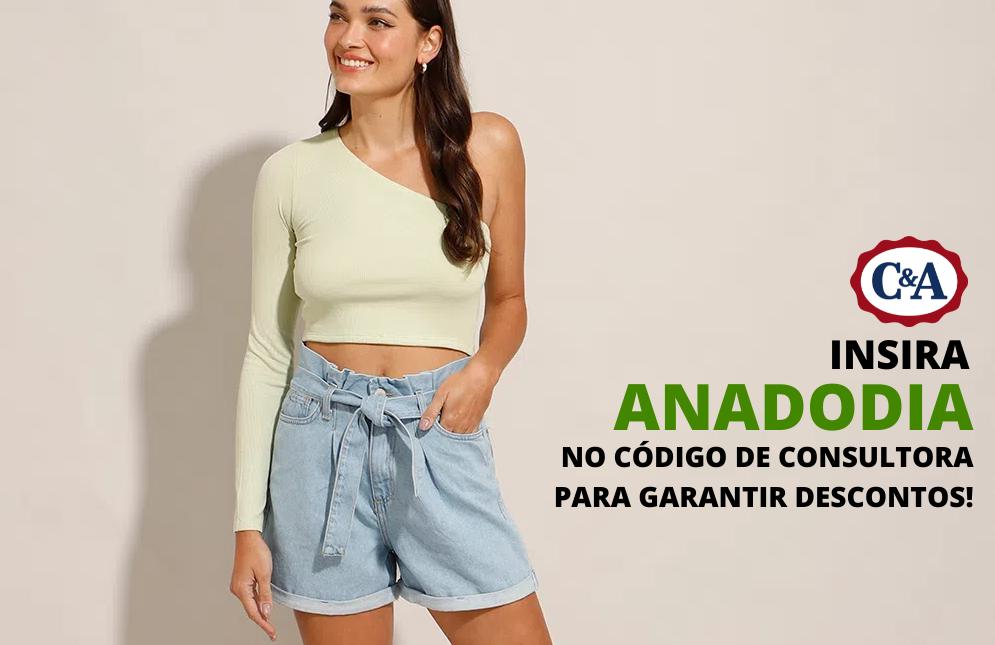 Minhas escolhas na C&A + Código de consultora ANADODIA - Cupom de desconto loja de roupas feminina
