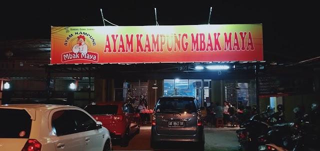 """Mantap"""" Ayam Kampung mbak Maya , Menu Andalan """"3G"""""""