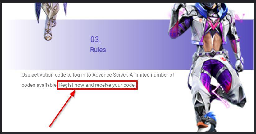 cara mendapatkan kode aktivasi ff advance server garena official