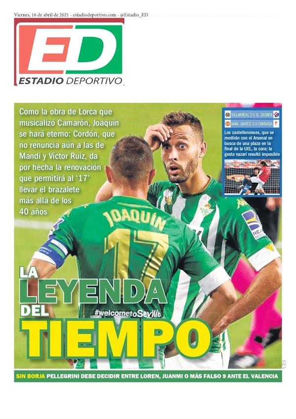 """Betis, Estadio Deportivo: """"La leyenda del tiempo"""""""