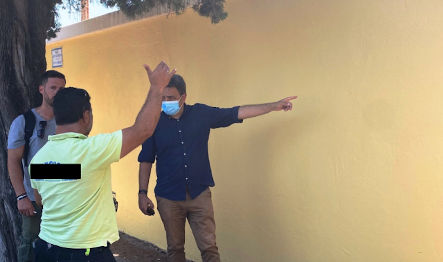 Βάφτηκε αντιρρυπαντικά και εντυπωσιάζει το Στάδιο «Διαγόρας»