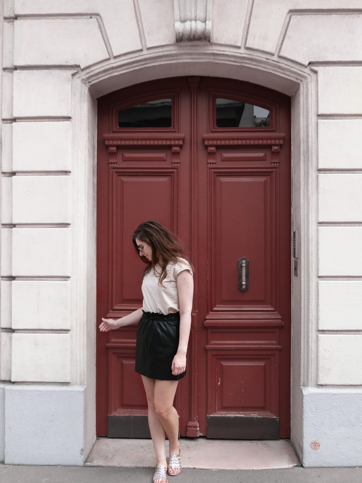Leather skirts for summer & other reasonable fashion choices
