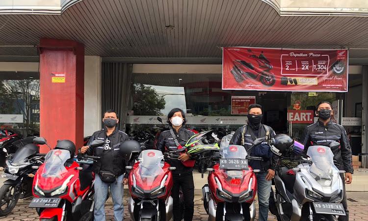 Buktikan Ketangguhan, Jurnalis Adakan Ekspedisi Borneo Menggunakan ADV150