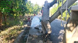 Dinas PUPR Luwu Tingkatkan Kapasitas Struktur Jalan Di Desa Bassiang dan Padang Sappa